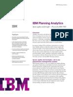 IBM Planning Analytics - Data Sheet (1)