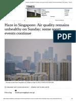Haze in Asia