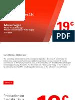 Maria Colgan 19c new features