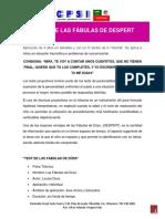TEST DE LAS FABULAS DE DESPERT.pdf