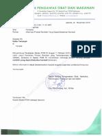 Surat Ke Asosiasi_Penjelasan Badan POM Tentang Produk Ranitidin Yang Dapat Diedarkan Kembali (1)