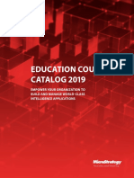 MicroStrategy Education Course Catalog