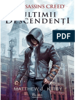 Matthew J. Kirby - Assassin's Creed. Ultimii Descendenti