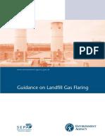 landfill gas flare - EU standards