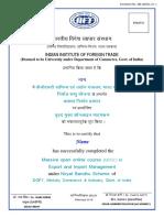 Certificate Format - MOOC (PDF)