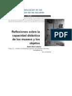Reflexiones sobre la capacidad didáctica de los museos.doc