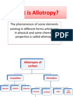 What is Allotropy