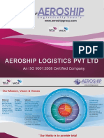 Aeroship Logistics Pvt Ltd Presentation