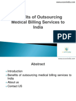 Benefits of Outsourcing Medical Billing Services to India