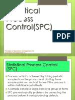 Statistical Process Control Chart