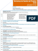 Programa WorkshopGestãoProjetos2019
