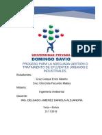 Grupo 4 - Proceso Para La Adecuada Gestion de Afluentes Urbanos e Industriales.docx
