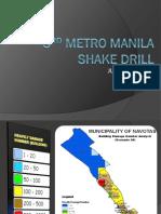3rd Metro Shakedrill Meeting