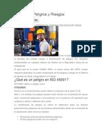 ISO 45001 Peligros y Riesgos.docx