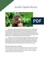 Rekayasa Genetika Ciptakan Monyet Penyakitan.docx