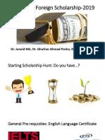 Cracking a scholarship