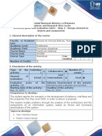 Activity Guide and Evaluation Rubric - Step 4 - Design Oriented to Objects and Components