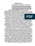 rolul comunivarii intre medic si pacient.doc
