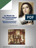 Inmaculada, Hª Fiesta España y Colombia