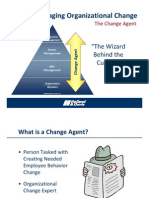 Role of Change Agent and Leadership