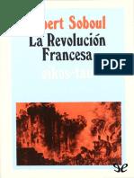 Soboul, Albert Marius - La Revolución Francesa