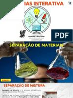 EF06CI03 - Separação de Materiais