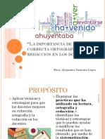 Importancia de la ortografia y redacción LOGA.pptx