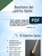El Bautismo del Espíritu Santo.ppt
