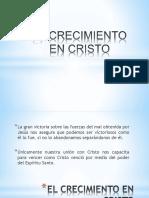 El Crecimiento en Cristo.pptx