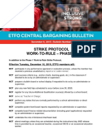 Central Bargaining Bulletin