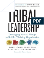 [2011] Tribal Leadership by Dave Logan | Leveraging Natural Groups to Build a Thriving Organization | HarperBusiness