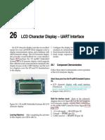 LCD Character Display - UART Interface