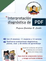 Interpretación diagnóstica de 5°B.pptx