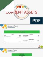 Balance Sheet on Current Assets