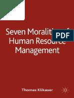 Thomas Klikauer (auth.) - Seven Moralities of Human Resource Management-Palgrave Macmillan UK (2014).pdf