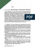 Hans Jörg Rheinberger - Die Erkenntnistheoretischen Auffassungen Althussers