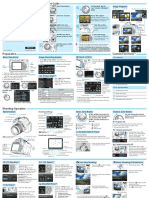 EOS 1200D Quick Reference Guide En