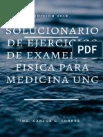 Solucionario de Ejercicios de Examen de Fisica Para Medicina Unc