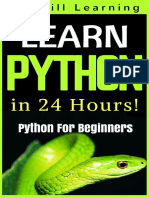 Python Programming For Beginners - Learn Python Programming in 24 Hours.pdf