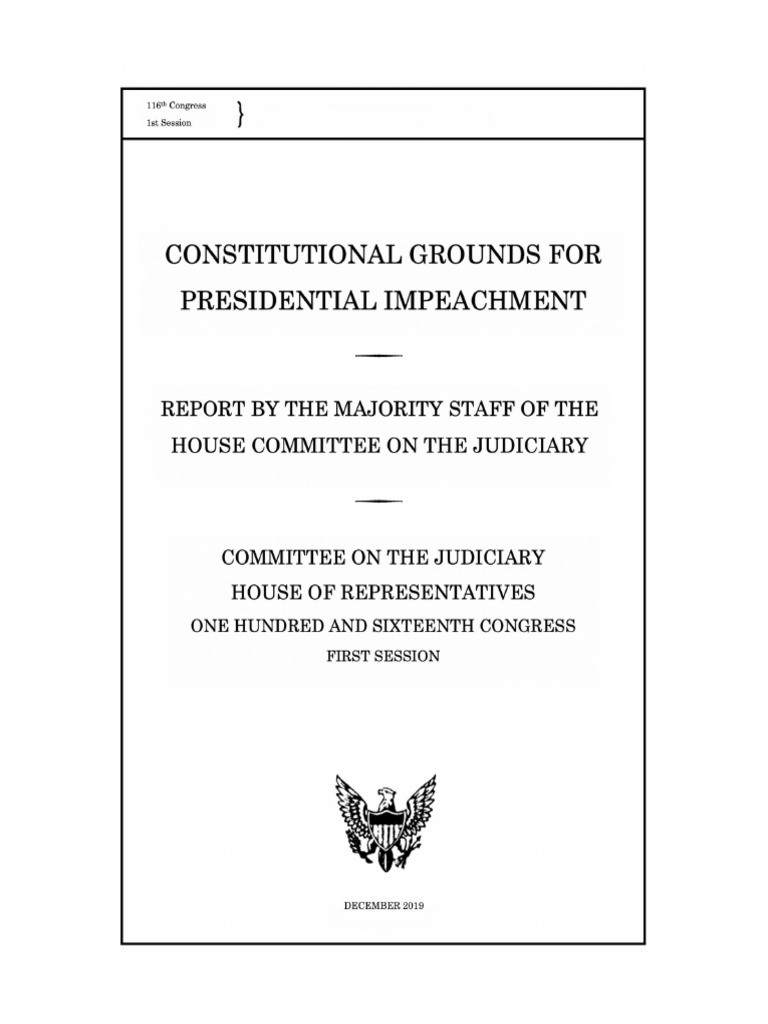 Judiciary Impeachment Process