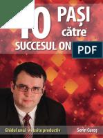 Cartea 10 Pasi Catre Succesul Online