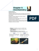 Thermochemistry Chapter 5