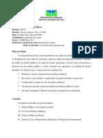 Programa Fundamentos de Políticas Públicas UnB 2-2010