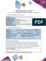 Activities guide and evaluation rubric - Post-task - Final task.docx