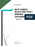 BAND 7+ IELTS SAMPLE ESSAYS AND TASK 1 WRITING (ACADEMIC) November 2019.pdf