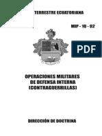 33. MANUAL DE OPERACIONES MILITARES DE DEFENSA INTERNA (CONTRAGUERRILLAS).pdf