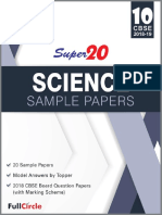 Super20 Science Sample Papers Class 10th CBSE 2018-19 Jasvinder Kaur Randhawa Full Circle Education ( PDFDrive.com )