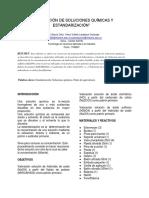 Informe Preparacion de Soluciones y Estandarizacion 2