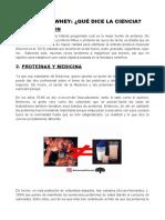 Articc81culo Proteicc81nas y Medicina