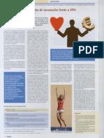 Indicaciones no financiadas de vacunación frente a VPH